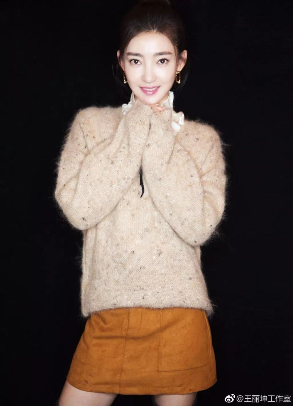 女明星教你毛衣的五种玩法, 学会你就是女神了