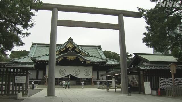就任日本首相後, 菅義偉首次向靖國神社供奉祭品-圖1