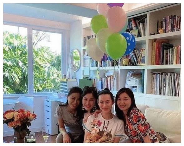 梁洛施上億豪宅慶32歲生日, 3個兒子首次露面, 氣質高貴超帥氣-圖1