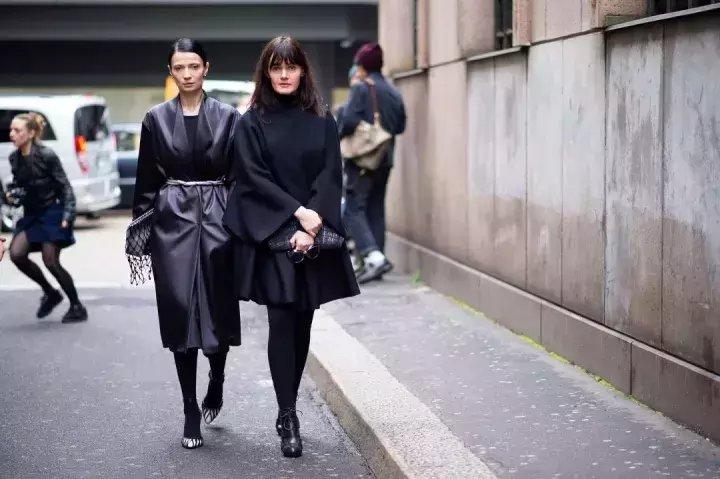 搭配 | 秋冬最经典的套路装, 一身黑色让你美出天际! 3
