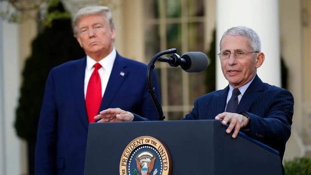 美總統碰瓷失敗, 福奇公開發聲, 揭露特朗普感染新冠背後真實原因-圖3
