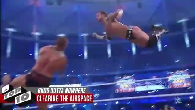 精彩到爆!盘点WWE传奇杀手兰迪-奥顿十大劲爆RKO!