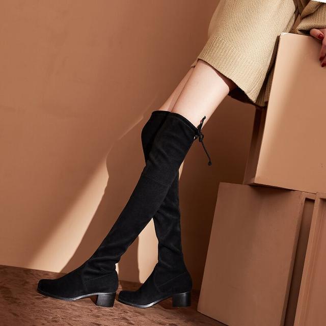 今年流行的这6双长靴穿出高挑细腿长, 女神修腿利器 1