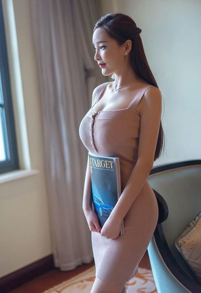 一款包臀裙, 凸显了一个女人的整体风度 6