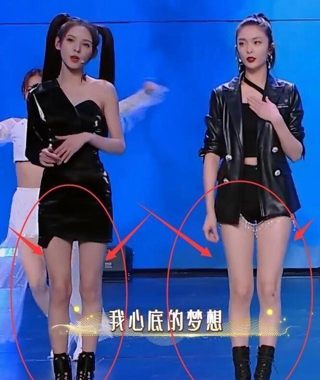 傅菁92斤, 張予曦80斤, 當兩人同框, 差距全在腿上瞭-圖4