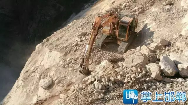 """邯郸涉县""""新愚公""""发源地 又一条""""天路""""正如火如荼建设"""