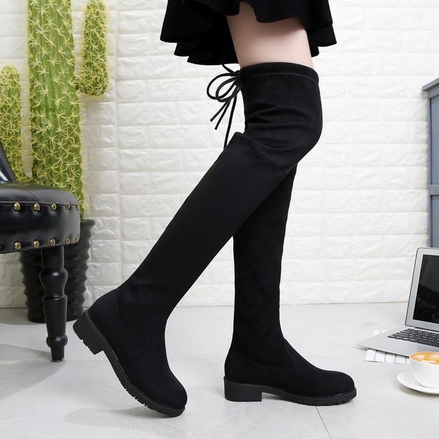 今年流行的这6双长靴穿出高挑细腿长, 女神修腿利器 11