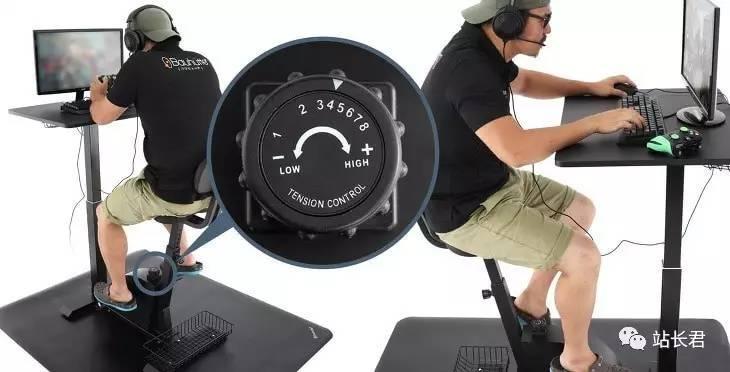 一边打游戏一边做运动Exercise Desk 日本上市