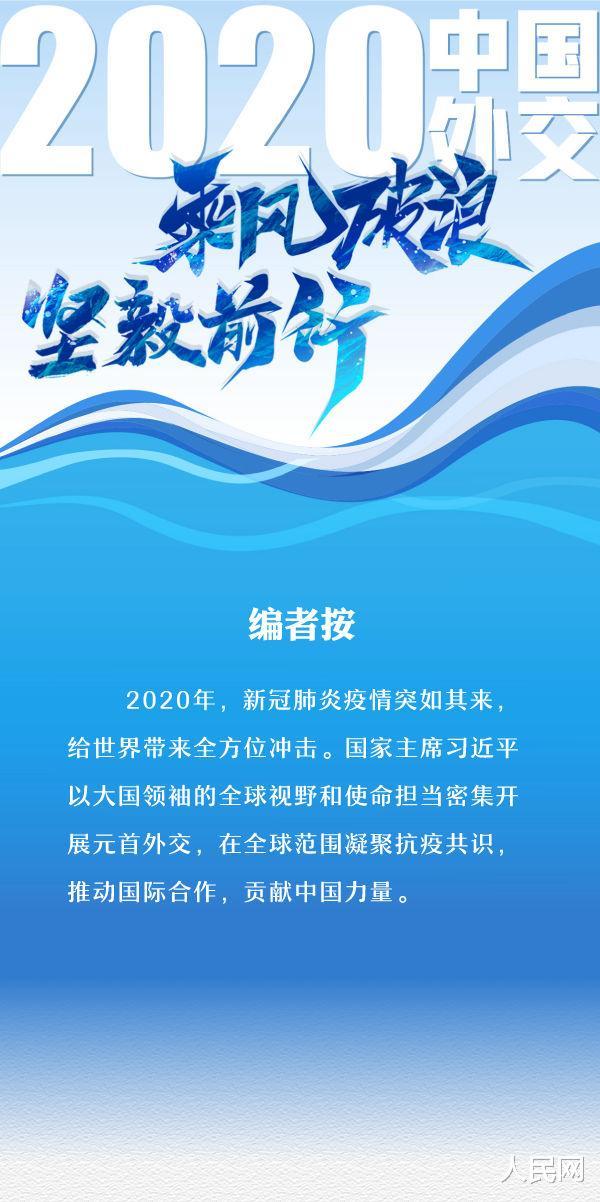 2020年中國外交乘風破浪堅毅前行-圖1