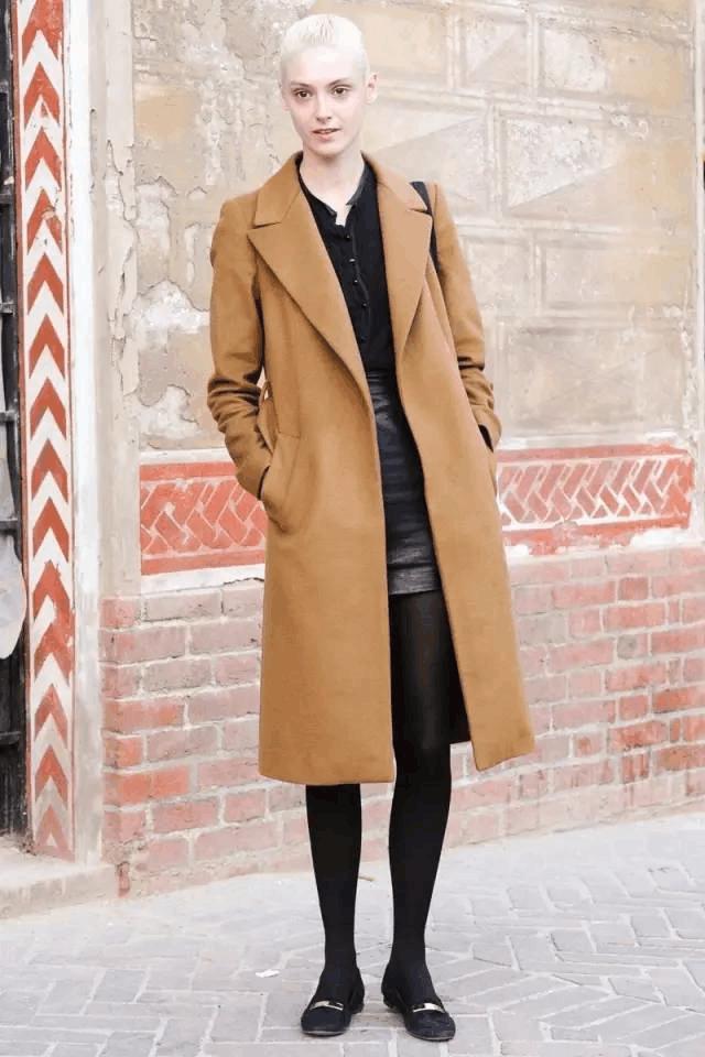 今年冬天穿这显贵的颜色, 保暖又时髦的大衣