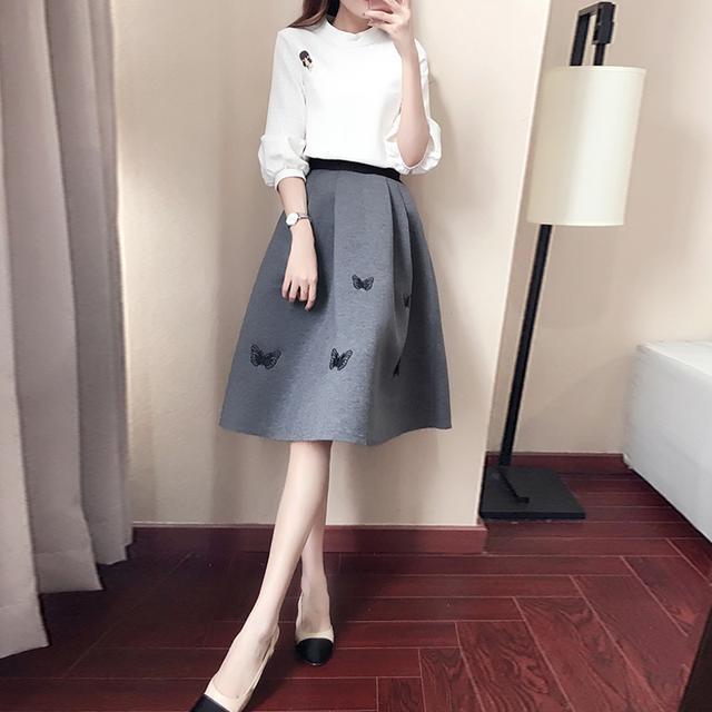 40岁的女人就别穿裙子了, 多穿这样的减龄套装, 时髦还特显气质 7