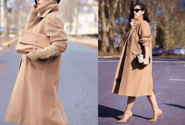 今年冬天穿这显贵的颜色, 保暖又时髦的大衣 25