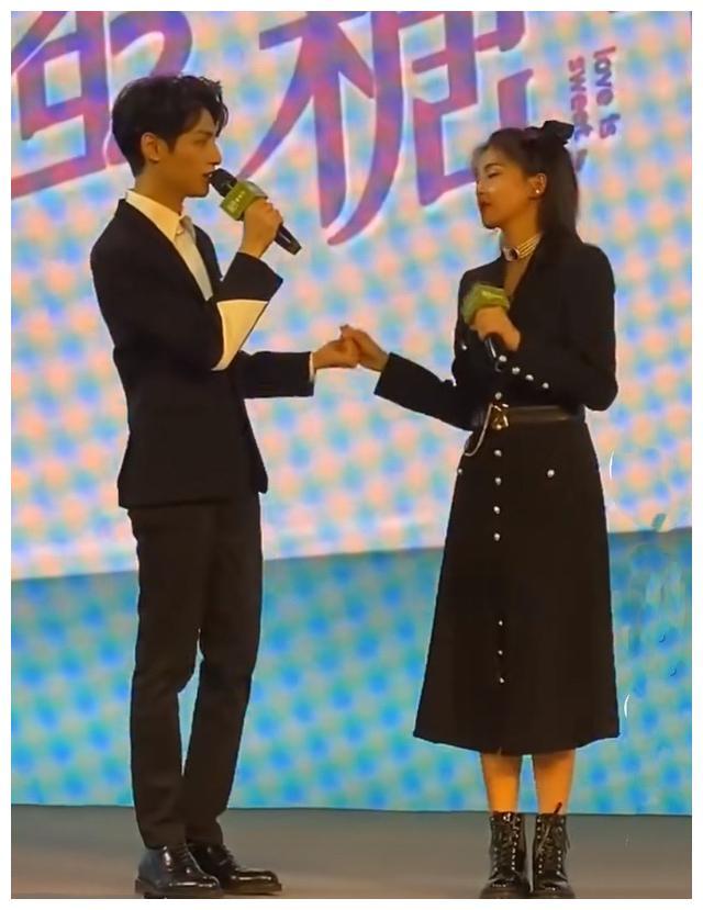"""《半是蜜糖》發佈會直播: 羅雲熙白鹿""""比心"""", 手拉手唱情歌-圖3"""