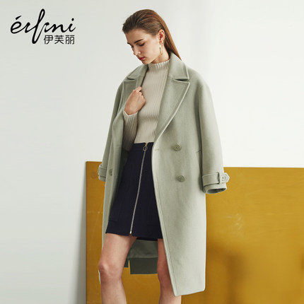 伊芙丽呢外套大衣质量好吗? 牌子怎么样?
