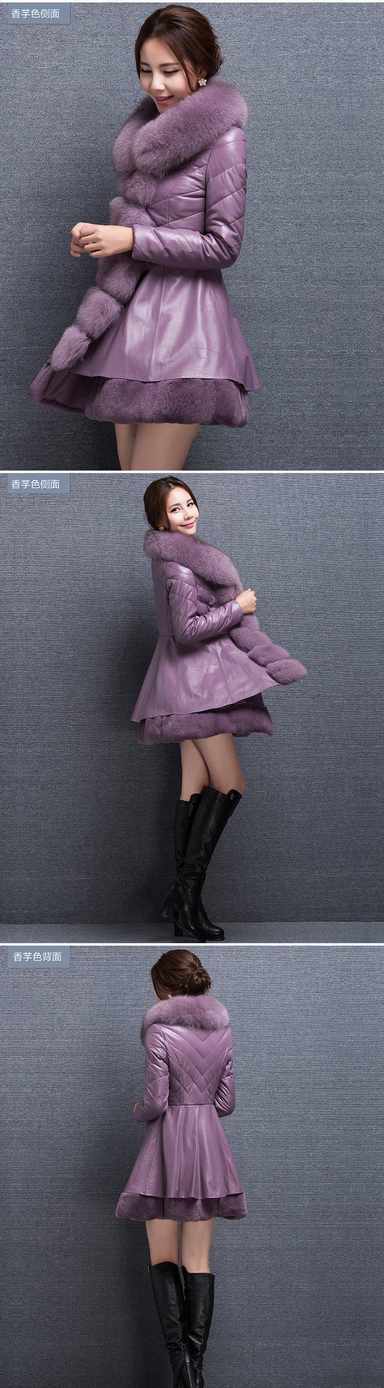女人过了三四十岁, 就别再穿大衣, 学学李小璐这样穿, 洋气又减龄 3