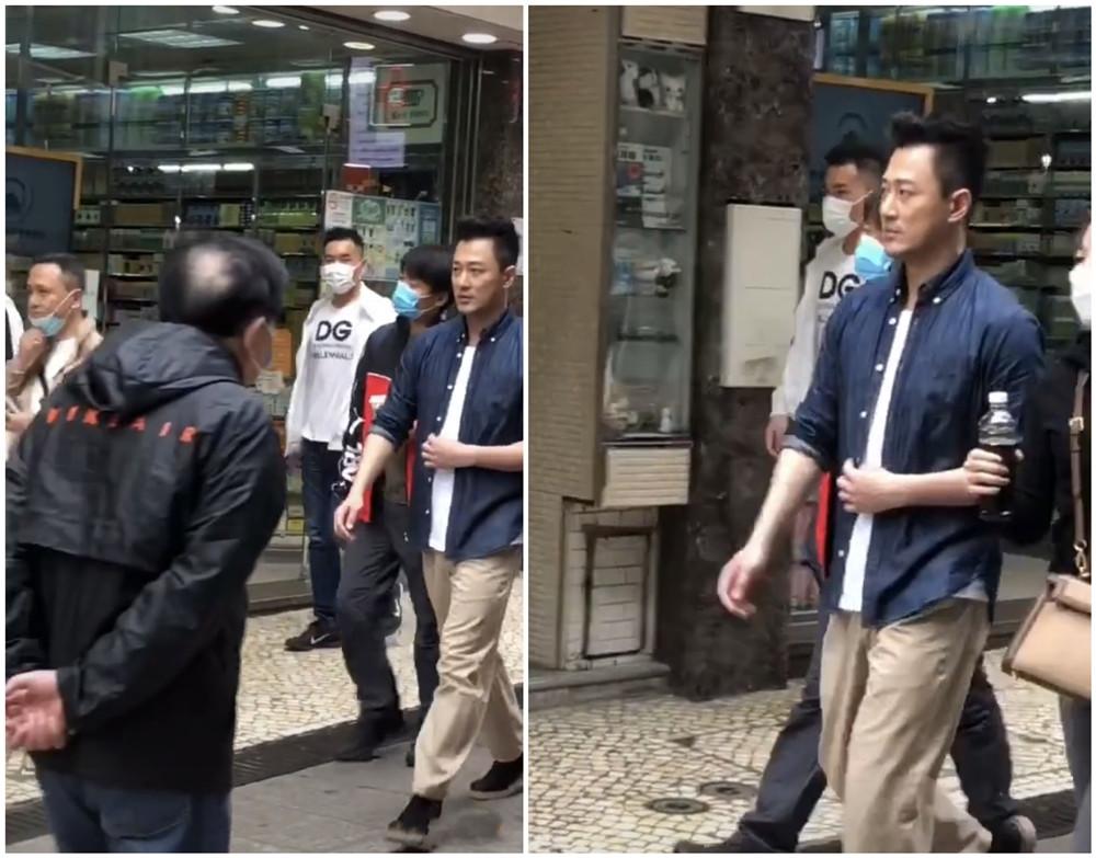 林峰老得也太多瞭吧 就這狀態在街頭偶遇 你看看能不能認得出他-圖2