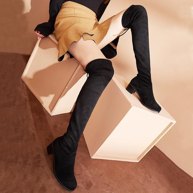今年流行的这6双长靴穿出高挑细腿长, 女神修腿利器