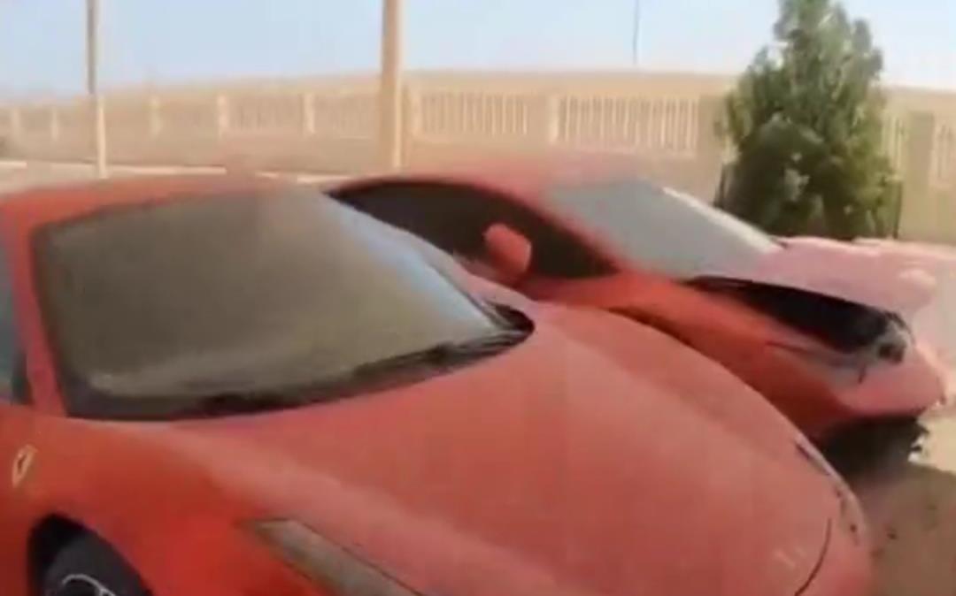 """迪拜有一個""""汽車墳場"""", 裡面豪車堆積如山, 報廢處理太可惜瞭-圖5"""