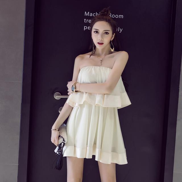 大街上, 你会看穿抹胸连衣裙的女生一眼么 4