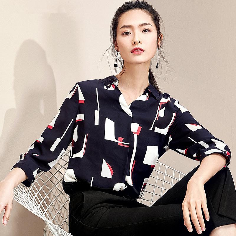 一件气质的秋季衬衫, 让你显得知性又迷人 12