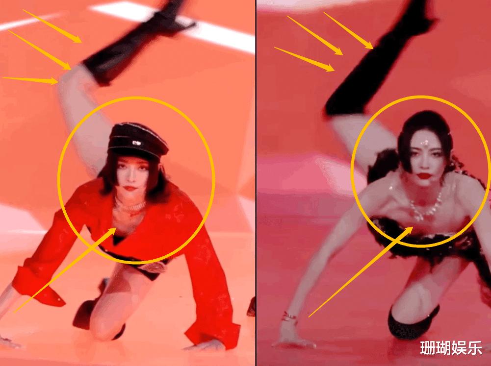 許佳琪蠍子腿上熱搜, 看清她跳舞時的鞋子, 舞蹈功底如何一目瞭然-圖5