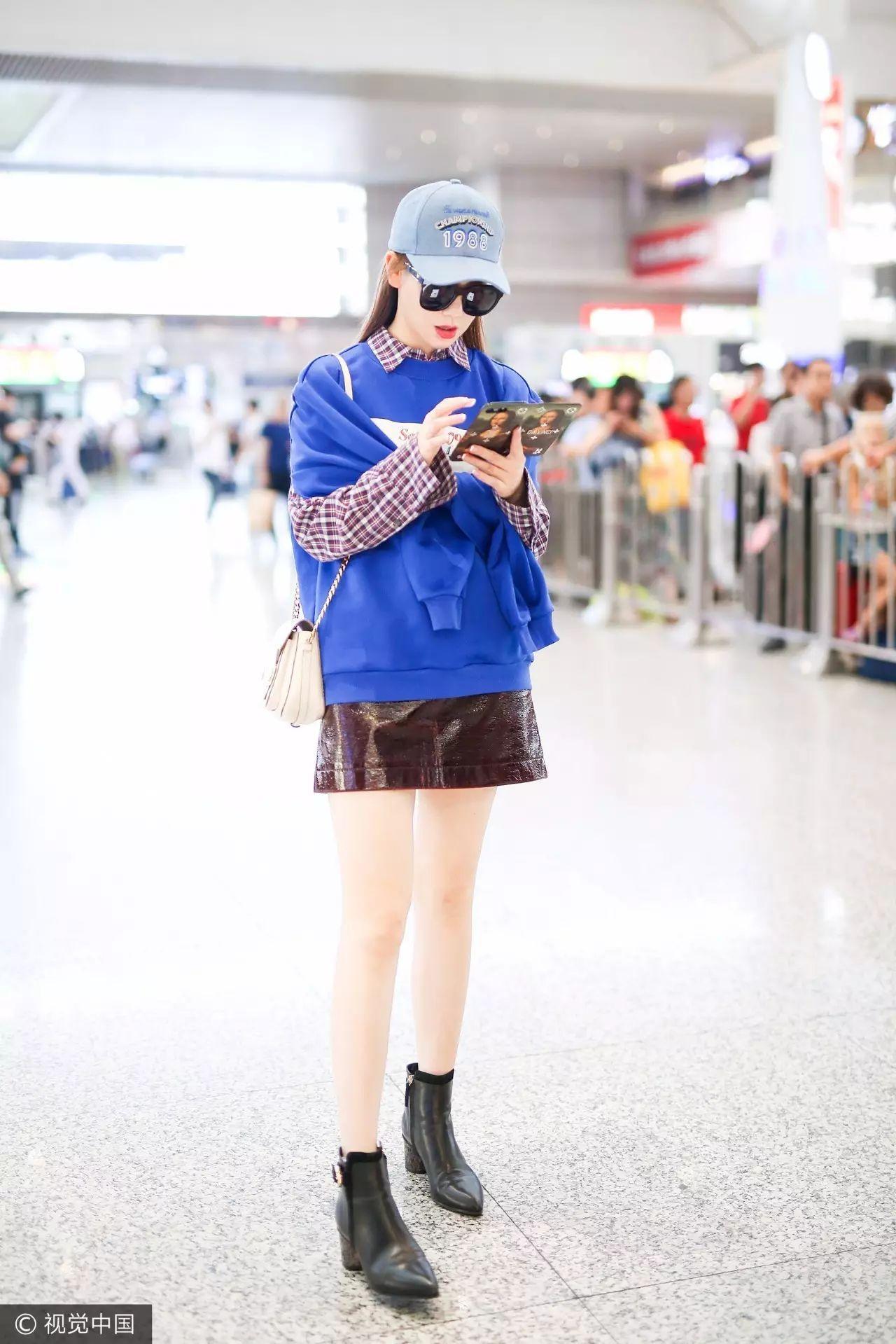 为什么戚薇很时髦你却没发现? 大概因为她一直穿衣不出错吧 15