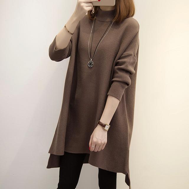 女人尽量别穿俗气的毛衣, 学学高圆圆、杨幂这样穿, 真的美翻了 18