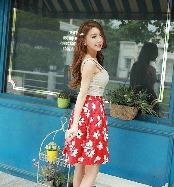 短裙给你不一样的美, 秀出可人魅力