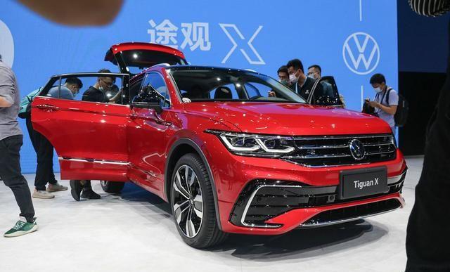 大眾途觀X采用溜背設計, 車型定位於中型SUV, 搭載2.0T排量-圖2