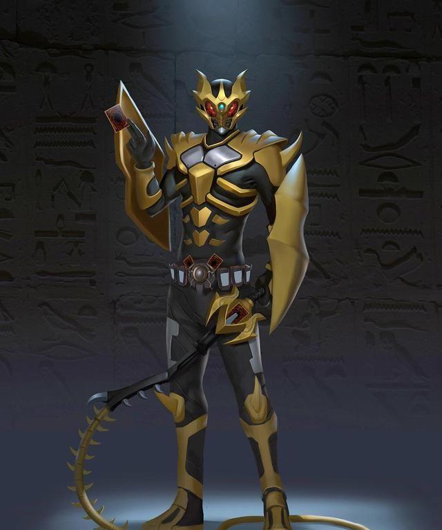 假面騎士:帝騎與空我的4種融合形態,能插2張卡,有6個天文開關-圖4