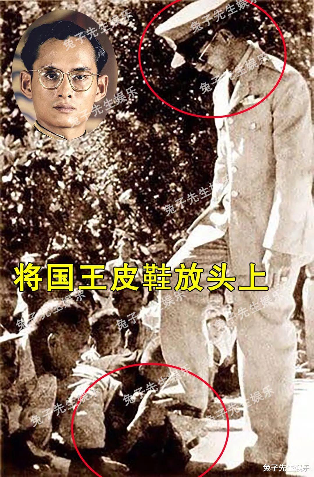 68歲泰王夜間遊行, 強行被民眾跪地擦皮鞋! 這種卑微來自骨子裡…-圖4