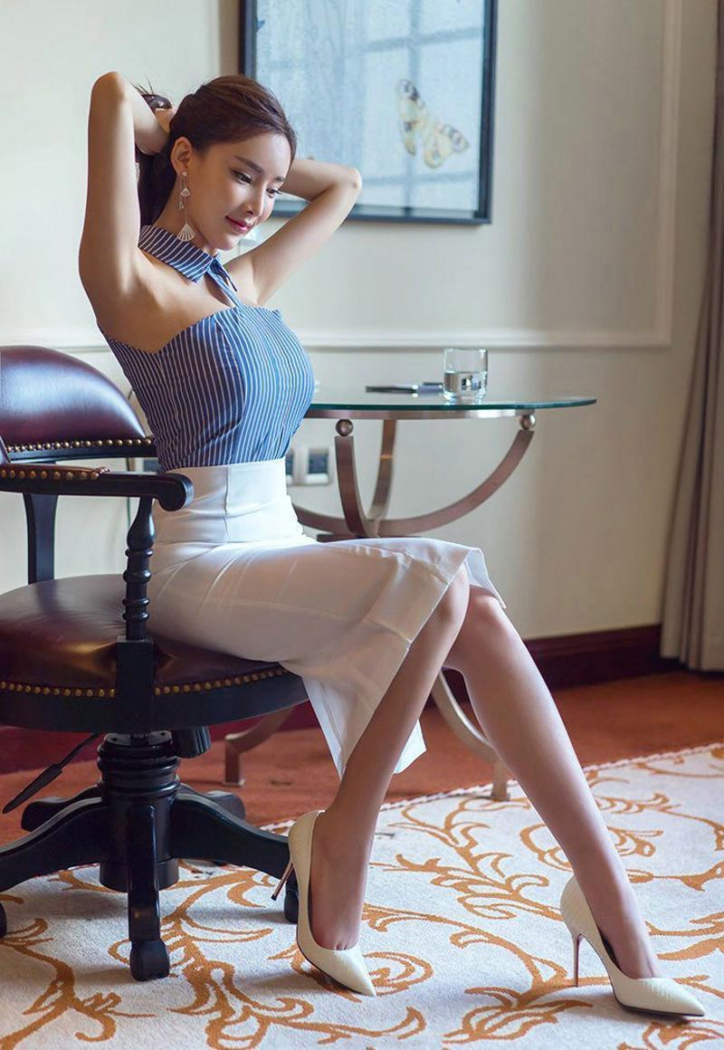 一款包臀裙, 凸显了一个女人的整体风度 4