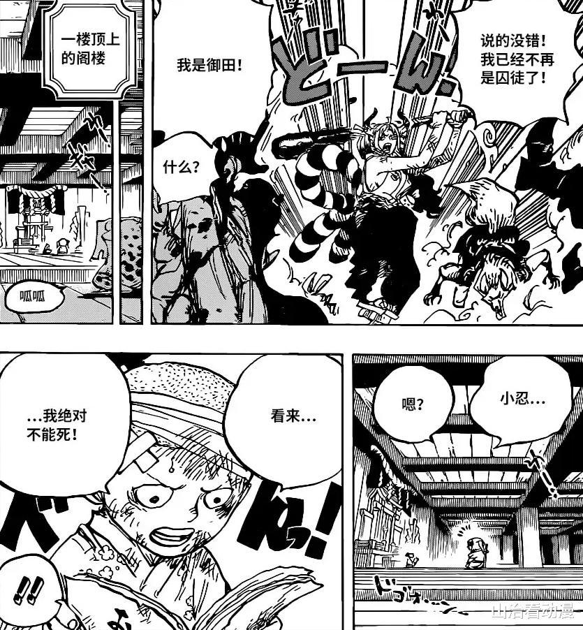 海賊王1016話情報: 尾田實錘, 大和成為路飛第十位夥伴, 好意外-圖3