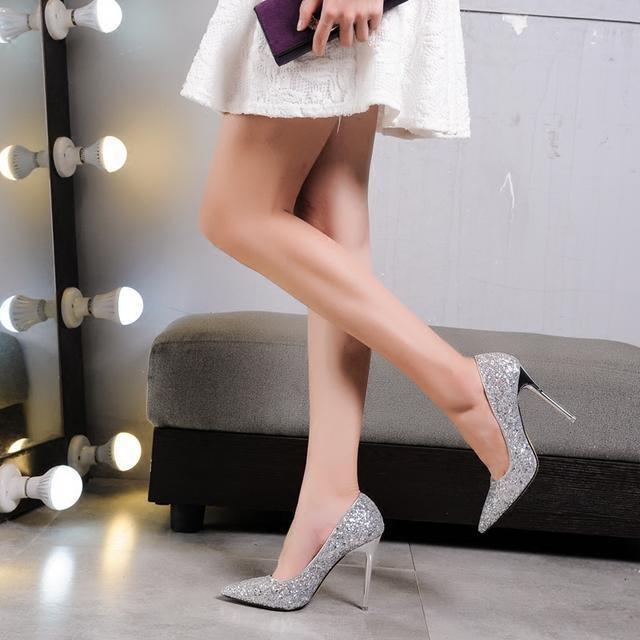 一天一个美丽打扮, 一天一双美丽高跟鞋, 秀出优雅女神范