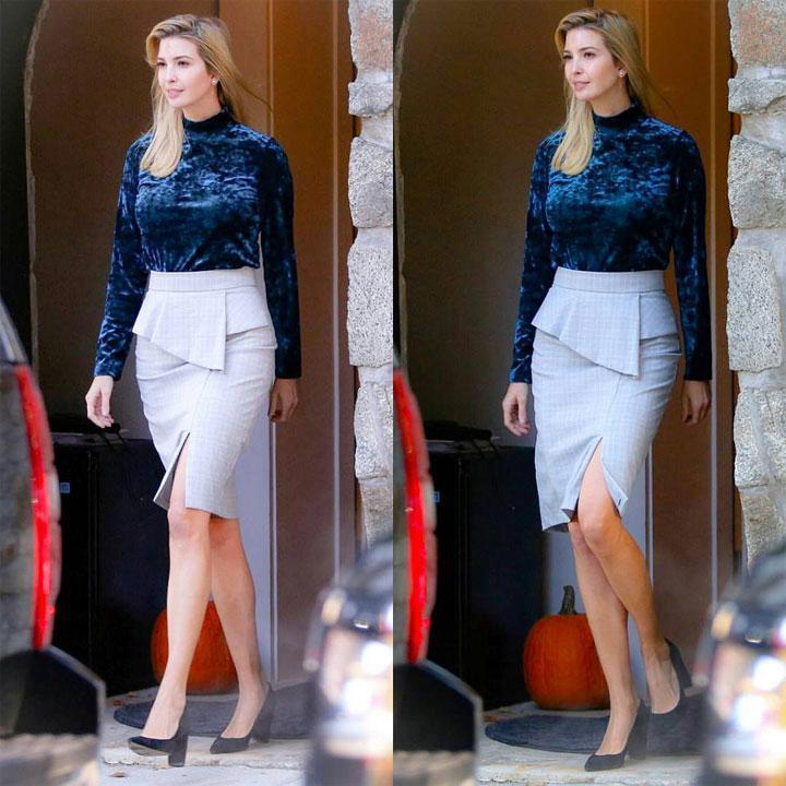 第一女儿伊万卡把平价穿出彩, 第一夫人梅拉尼娅却因奢侈大衣 3