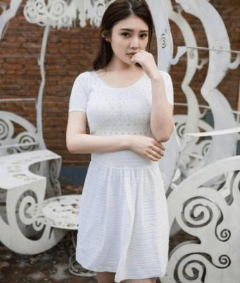 谁说有料的女生不能穿白裙子? 我很认真地说, 不要太好看 1