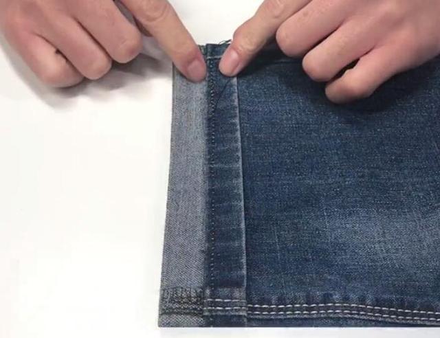 裤腿长了不用剪, 长裤腿巧变短, 网上买裤子再也不怕裤腿长了 3
