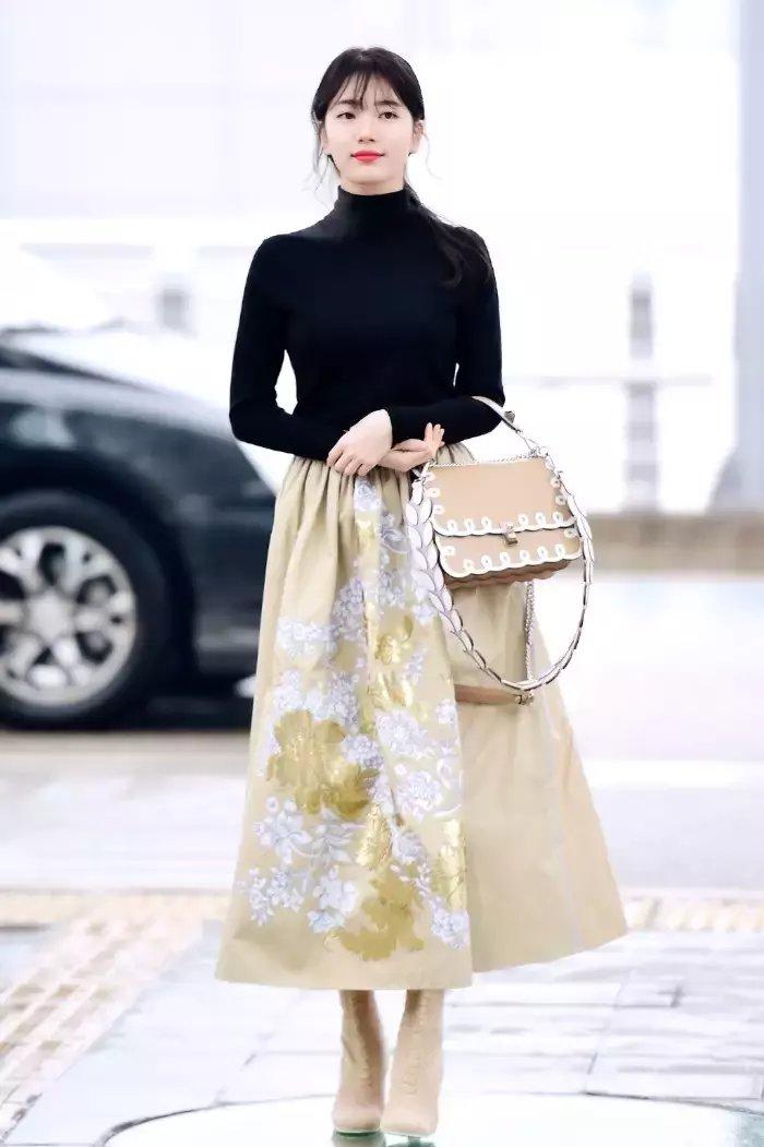 裙子+短靴才是初秋最时髦搭配! 41