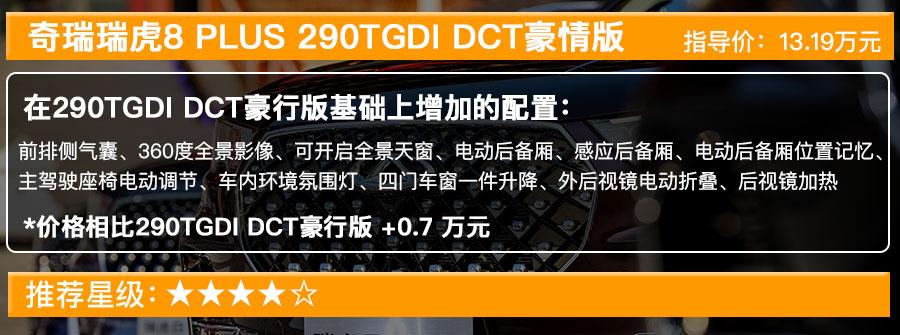 奇瑞瑞虎8 PLUS售12.49萬起, 搭1.6T發動機的五款車型選哪款最值?-圖5