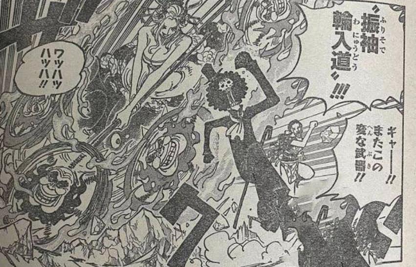 """海賊王1020話圖解: 凱多與大和""""對波"""", 束胸裝黑瑪利亞激鬥羅賓-圖7"""