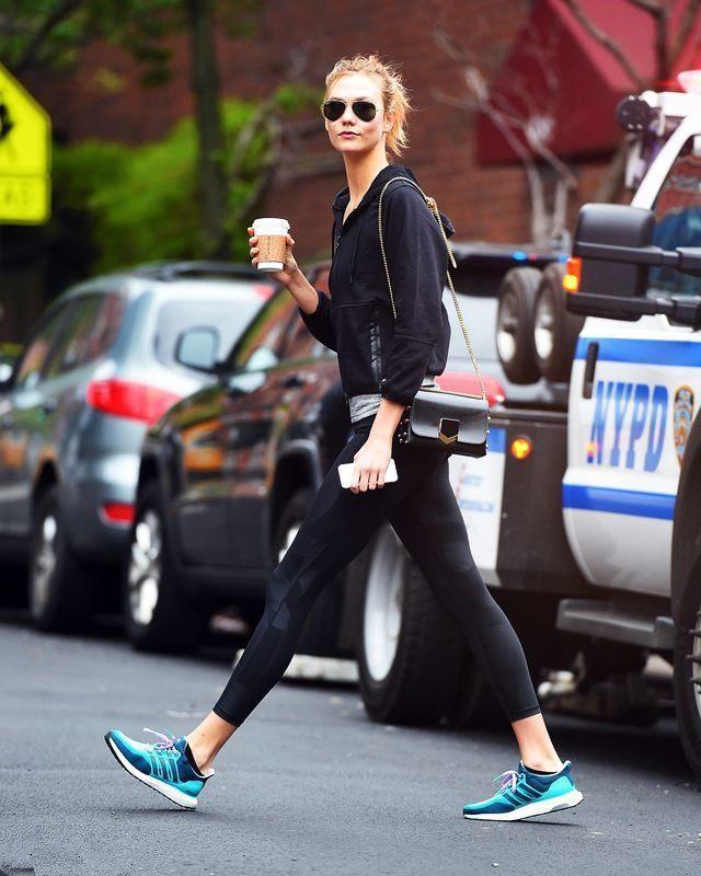 显出大长腿就这么简单, 超模教学裤子穿法 9