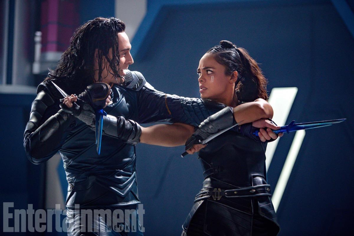 雷神3 新照锤基绿胖并肩作战, 洛基女武神打出感情