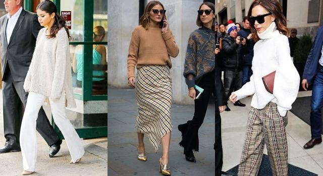 学会毛衣这样穿, 轻松穿出流行感! 让你在秋冬美成一道街景! 2