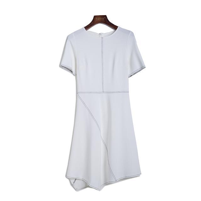作为干练的职场女强人, 而你最不可少了精致气质的连衣裙 4