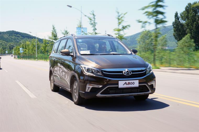 长安欧尚A800试驾评测 长安欧尚7座MPV价格配置