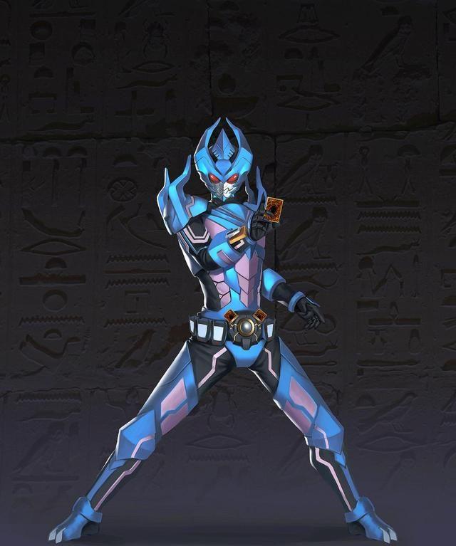 假面騎士:帝騎與空我的4種融合形態,能插2張卡,有6個天文開關-圖5