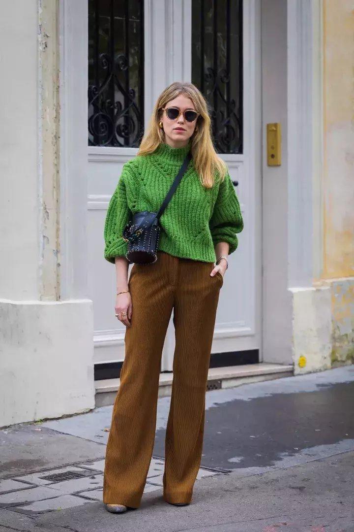 去年买的这几条裤子, 今年穿更时髦了! 4