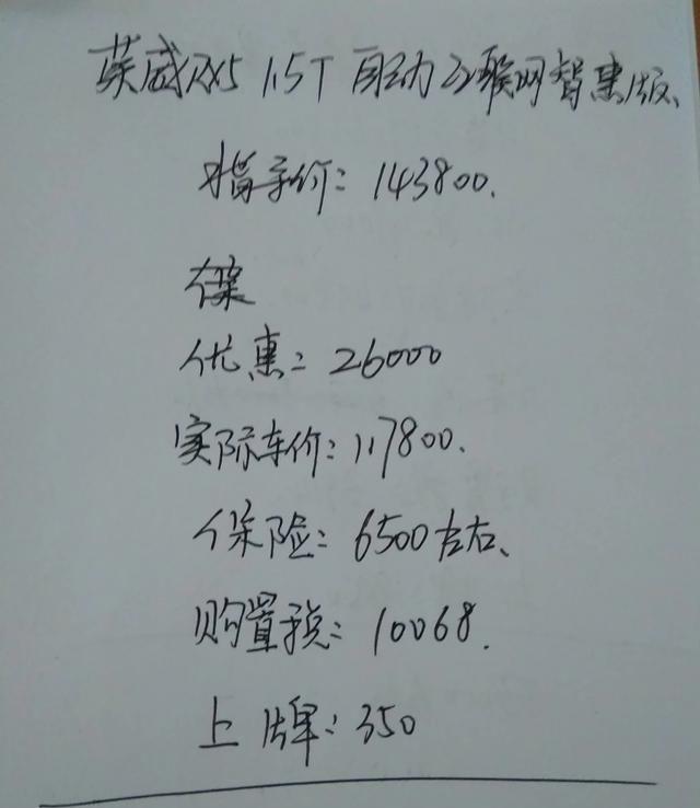 榮威RX5的異響嚴重嗎? 它落地134700元貴嗎? 車主說瞭幾個小毛病-圖1