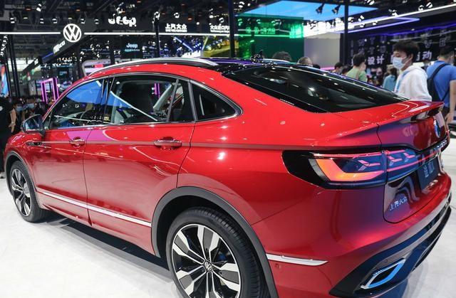 大眾途觀X采用溜背設計, 車型定位於中型SUV, 搭載2.0T排量-圖6