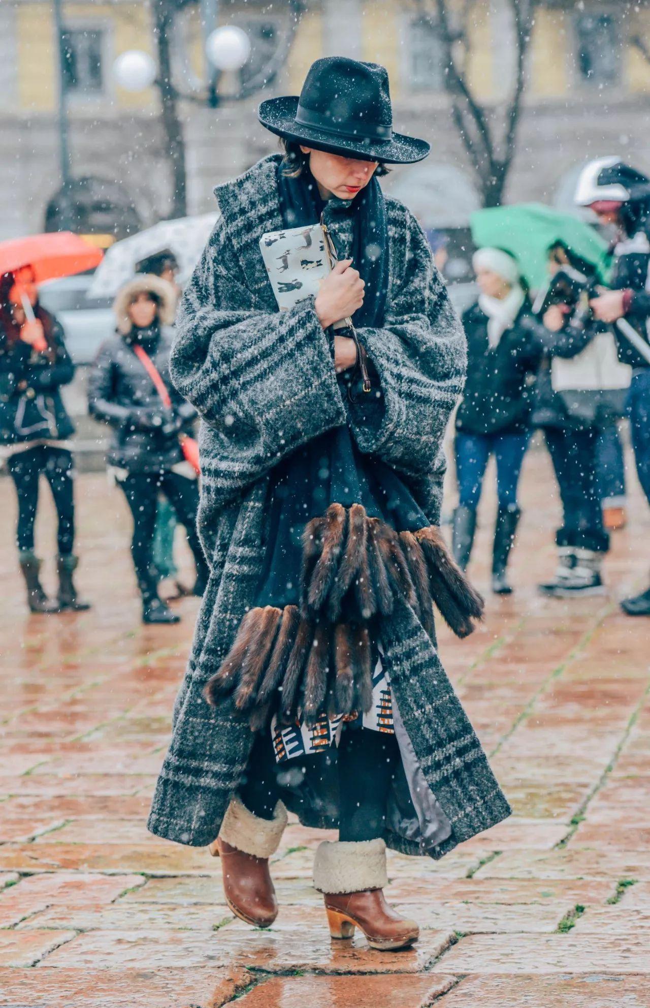 2017冬天, 这条围巾最火! 太好看了! !